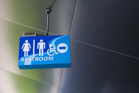 modern toilet sign 版權商用圖片