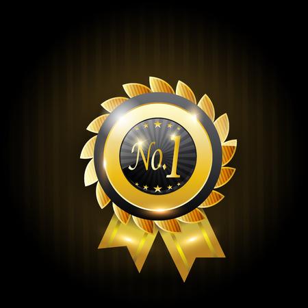 no 1: no 1 badge