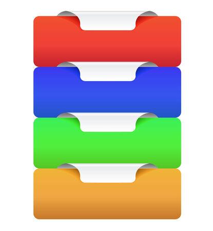 bright colour: beautiful web banner with bright colour