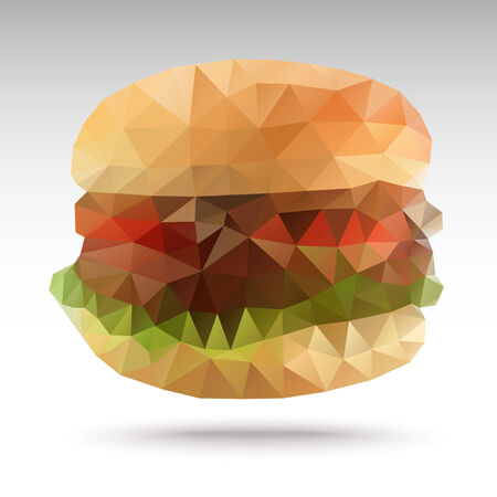 cheese burger: Polygon Berger