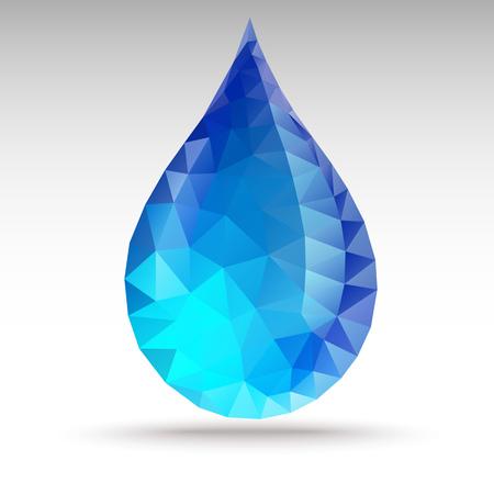 Polygon Water Drop