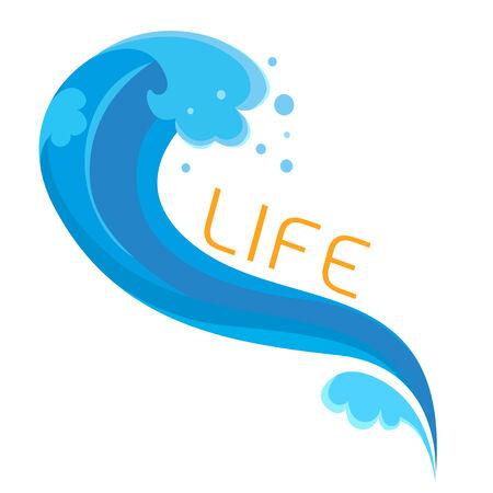 olas de mar: Blue Wave