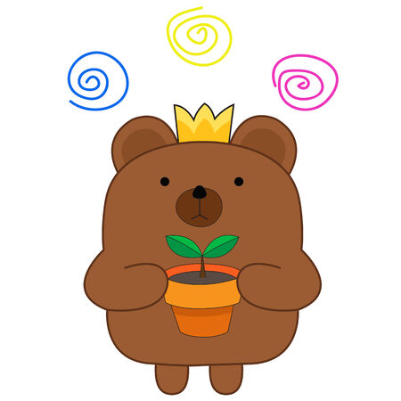 charactor: Cute bear