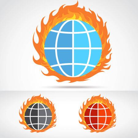 changing form: World Fire Illustration