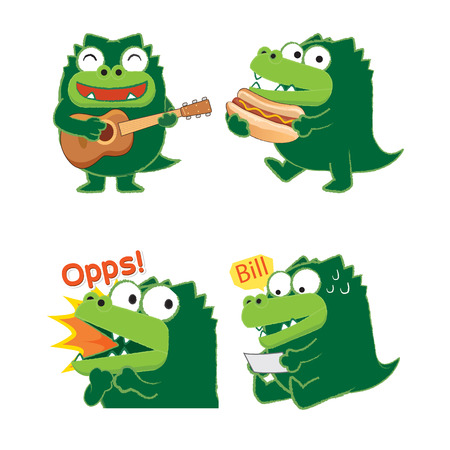 01: Crocodile Acting 01