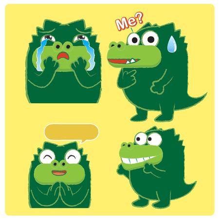03: Crocodile Acting 03