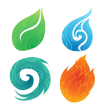 Sand water wind fire