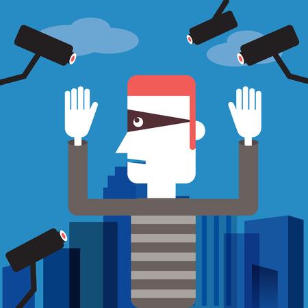 burglar man: Spy camera