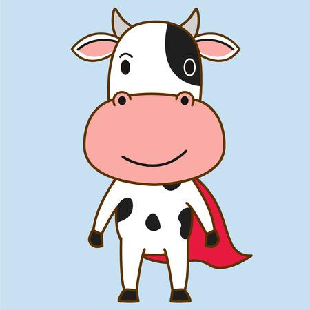 vecter: Cow mascot