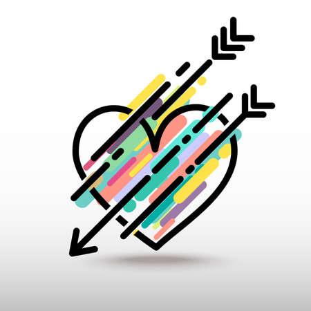 heart arrow: Heart arrow