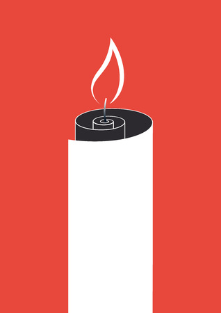immaculate: Paper roll fire Illustration