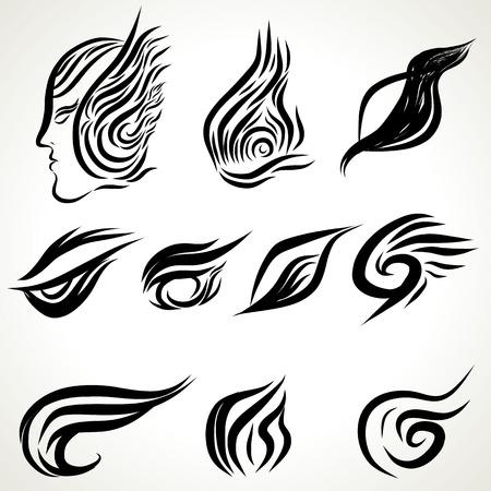 devil fish: Graphic Ink Tattoo Illustration