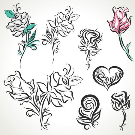 crimp: Rose graphic