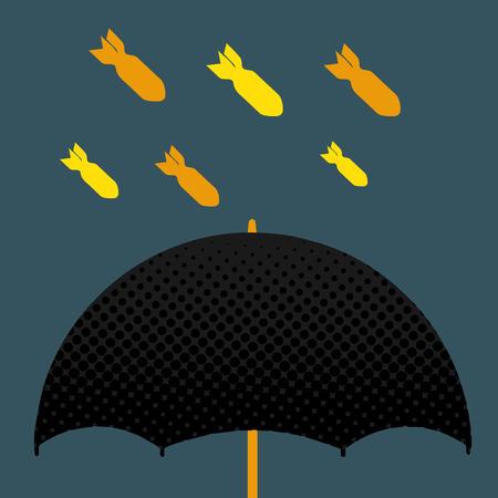 warhead: Umbrella Bomb Illustration