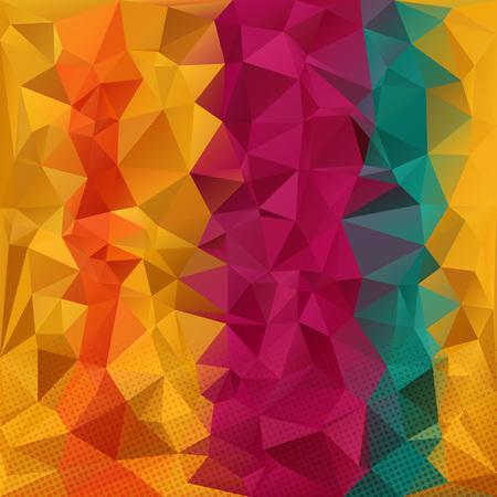shredded: Colorful strips background