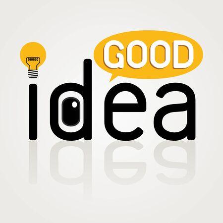 goed idee: Goed idee pictogram