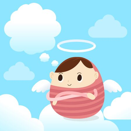 eden: Engel Junge im Himmel