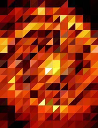 millennium: Polygon red circle fire
