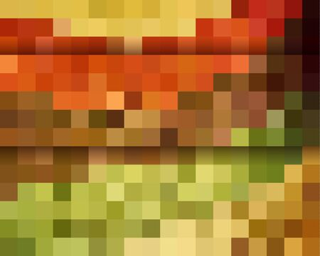 abstract wallpaper: Orange ractangular abstract wallpaper Illustration