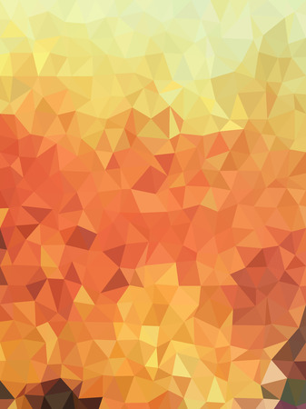 earth tone: Abstract triangles with earth tone color background