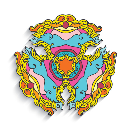 beautify: East ornamental geometric pattern