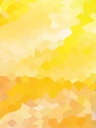 millennium: Abstract shiny yellow geometric pattern Illustration