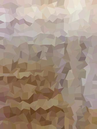 millennium: Brown geometric pattern Illustration