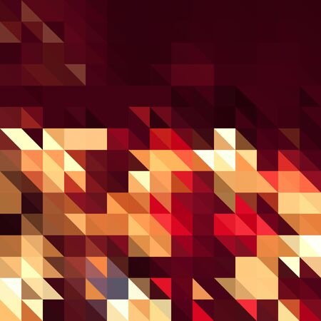 millennium: Red square abstract background