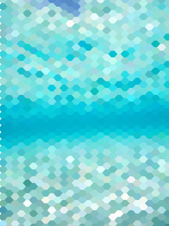 millennium: Abstract Freshy blue hexagon background