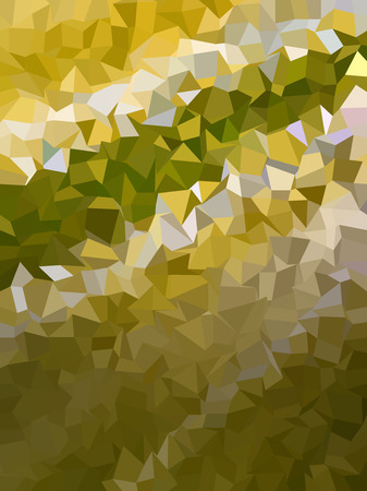 golden color: Abstract dark golden color triangles pattern Illustration