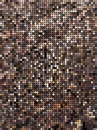 brown: Sparkle brown dot pattern