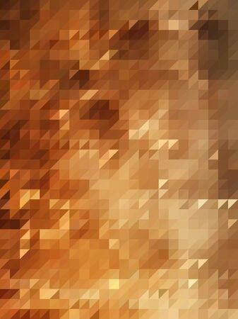 brown: Bright brown triangles pattern