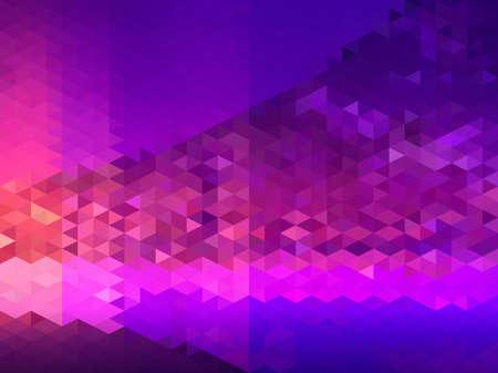 deep purple: Abstract purple and deep blue triangle pattern