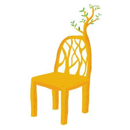 ramification: Natural chair