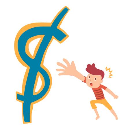 atrapar: dinero capturas Vectores