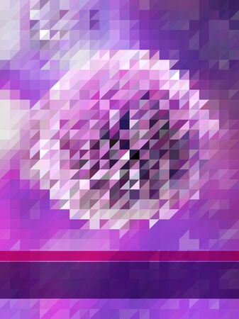 Background of Violet triangle pattern