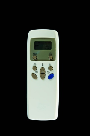celsius: The digital remote control for air condition, digital thermostat Stock Photo