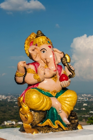 Ganesh Lord Ganesha or Lord Ganesh, the Hindu god of the optical Stock Photo - 16056367