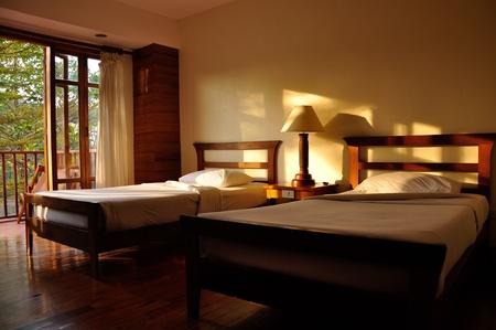 Bedroom. Stock Photo - 13373140