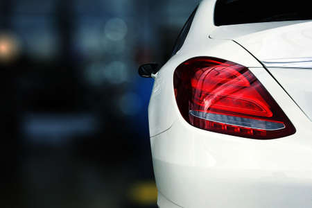 tail light of car