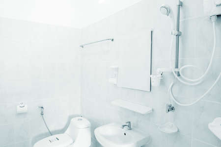 Decoration and installation of bathroom equipment are Perfectly and beautifully.