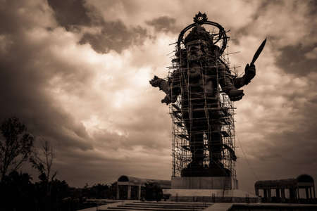 Big ganesh statue under construction, Thailand  photo