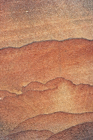 Closeup texture of pink sandstone use for background photo