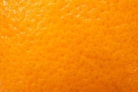 Close-up van sinaasappelschil gebruiken voor achtergrond