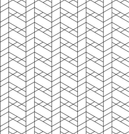 trapezoid: Modelo incons�til geom�trico blanco y negro con la l�nea, rombo, trapecio y el tri�ngulo
