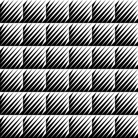 jagged: Black and white jagged edge seamless pattern, eps 10, vector, illustrator. Illustration