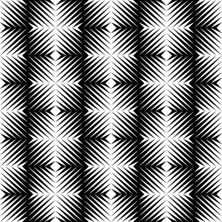 at the edge of: Black and white jagged edge seamless pattern