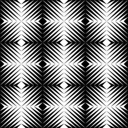 Black and white jagged edge seamless pattern, eps 10, vector, illustrator. Illustration