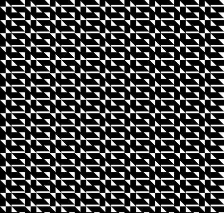 trapezoid: Modelo incons�til geom�trico blanco y negro con el tri�ngulo y trapecio, resumen de antecedentes, vector.