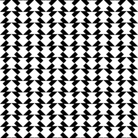 trapezoid: Modelo incons�til geom�trico blanco y negro con el trapecio, resumen de antecedentes, vector, ilustraci�n.